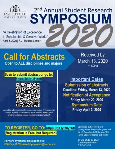 Symposium promotional poster