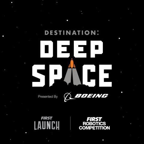 FRC Destination Deep Space Logo