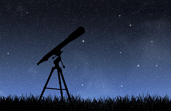 telescope graphic