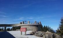 Mt. Mitchel visitors center
