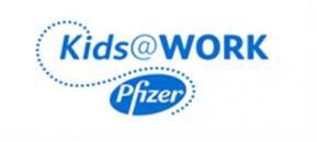 Pfizer Kids@work logo