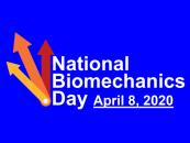 National Biomechanics Day Logo