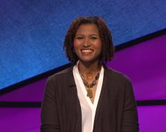 Bianca Howard on Jeopardy