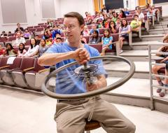 UNC Physics professor Duane Deardorff