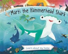 Marti the Hammerhead Shark book cover